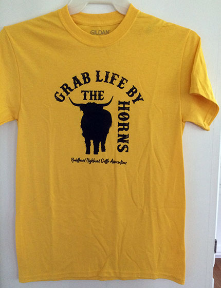 Highland Grab Life By the Horns Shirt