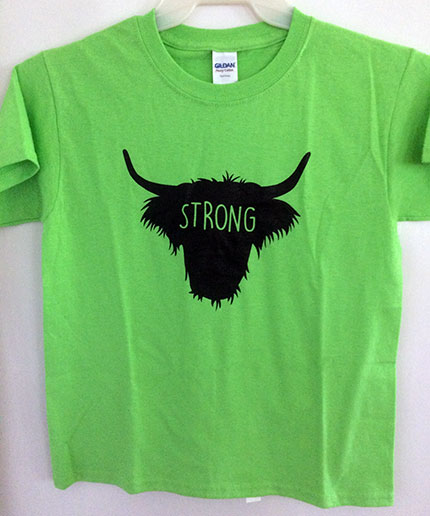Highland Youth Strong Design Shirt